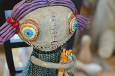 The work of dollmaker Reina Mia Brill captured for the Bronx Artist Documentary Project.